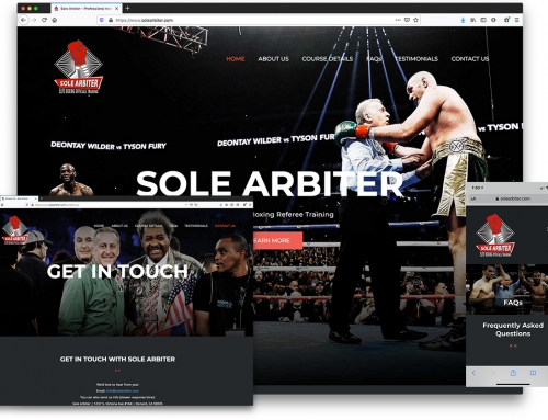 Sole Arbiter – Professional Referee Training Course