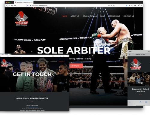 Sole Arbiter – Professional Referee Training Course